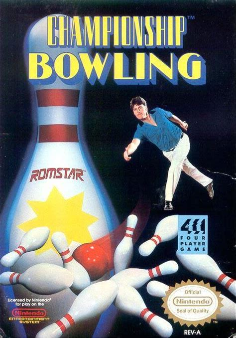 Championship Bowling For Nes - Gamefaqs.